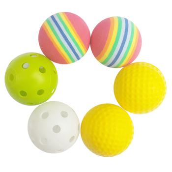 Шары для гольфа,  BUSHNELL гольф мяч гольф резина мяч полый мяч практика мягкий мяч губка мяч практика мяч, цена 233 руб