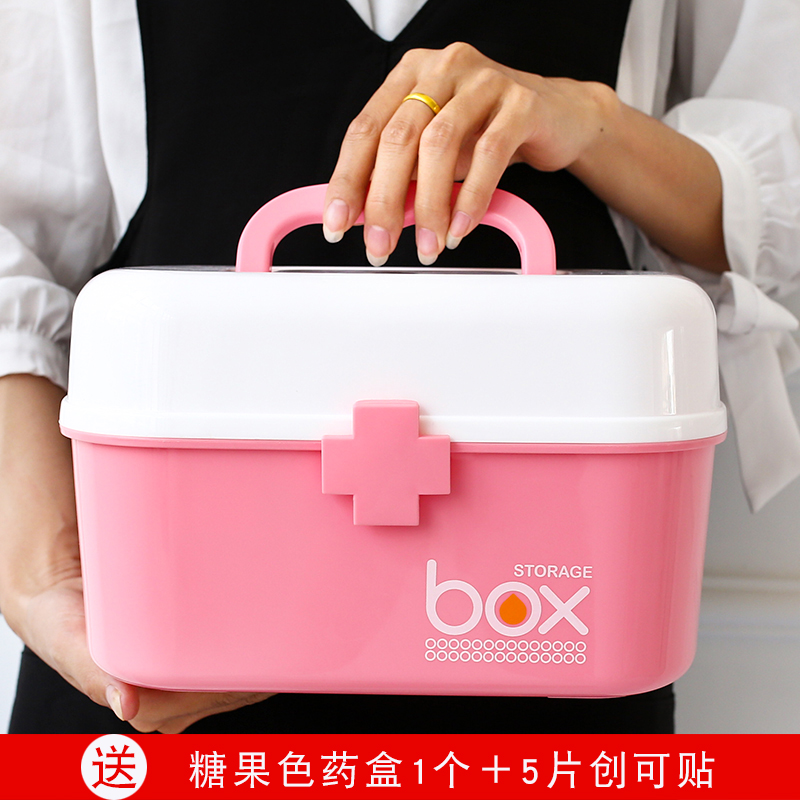 Ребенок аптечка ребенок большой средний маленький размер медицина статья медицина вещь в коробку домой ребенок мини аптечка портативный портативный