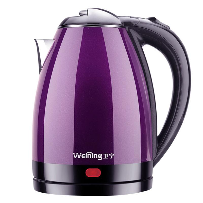 卫宁 WN-200B8电热水壶电壶自动断电快壶家用大小保温电热烧水壶