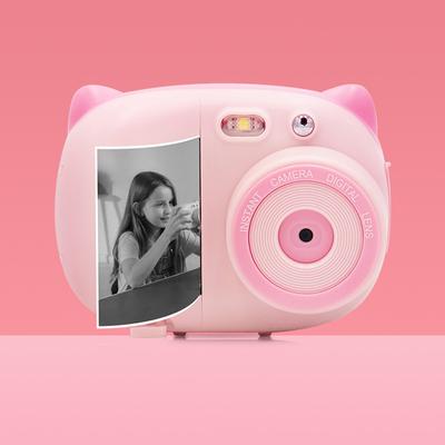儿童拍立得数码照相机秒打印