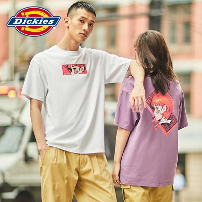 年轻而质感DICKIES&ILYA合作情侣短袖T恤不断激励创造普打造属于自己的风格