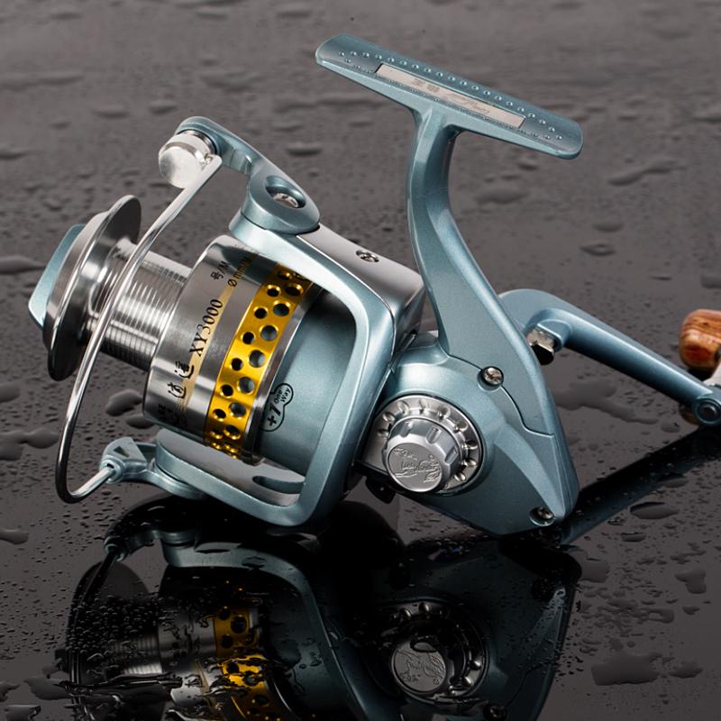 狼王系列渔轮车轮轮纺鱼线逍遥XY4000金属线杯10轴海钓海竿鱼轮