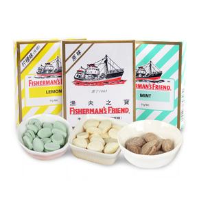 英国进口渔夫之宝润喉无糖薄荷糖