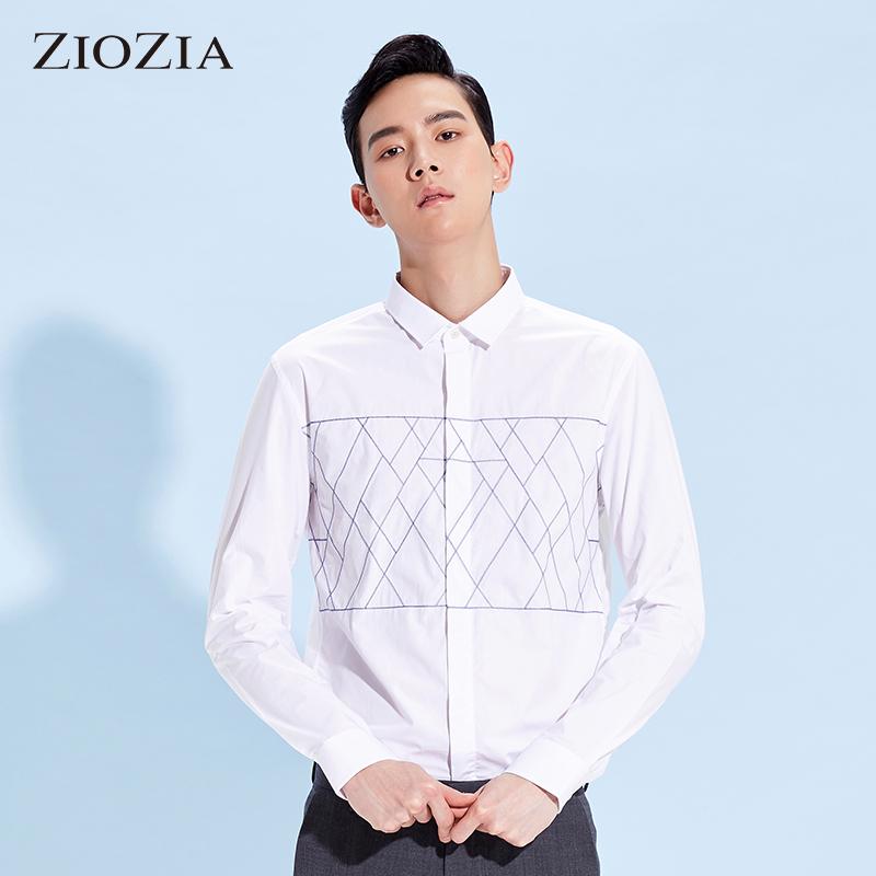 Рубашка мужская ZIOZIA caw1wc1102