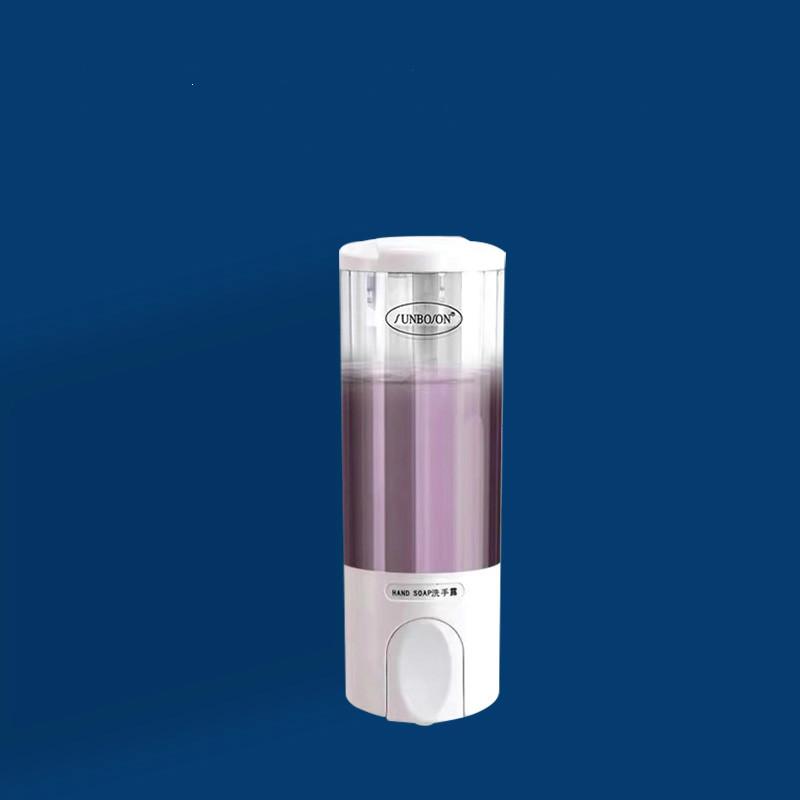 宾馆酒店皂液器洗手液机瓶子手动按压壁挂式家用沐浴露洗发水盒子
