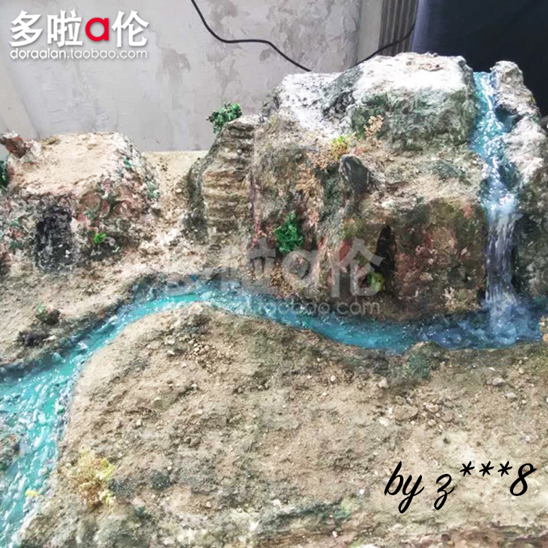 The water feature paste of the water smh com au simulation water-making  flower fountain DIY sandpan soldier scene model material