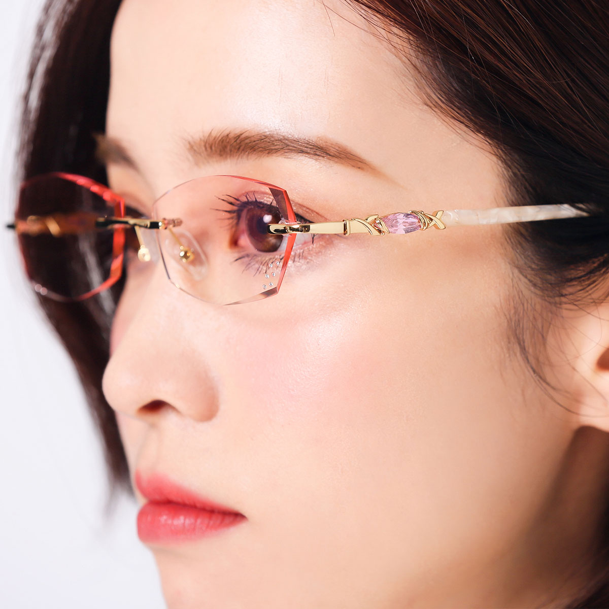 de298df5b00 ... lightbox moreview · lightbox moreview. PrevNext. Trimming glasses  female round face ...