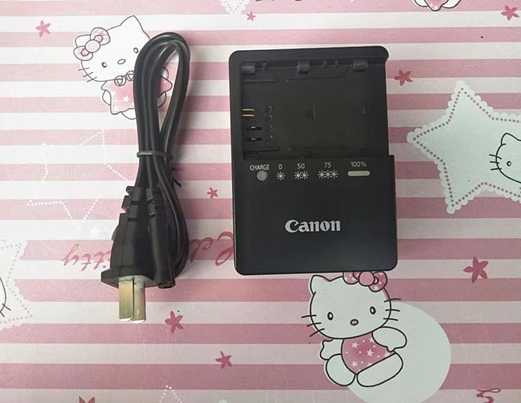 电池佳能EOS6D7D60D70D80D单反原装LP-E6相机充电器LC-E6E
