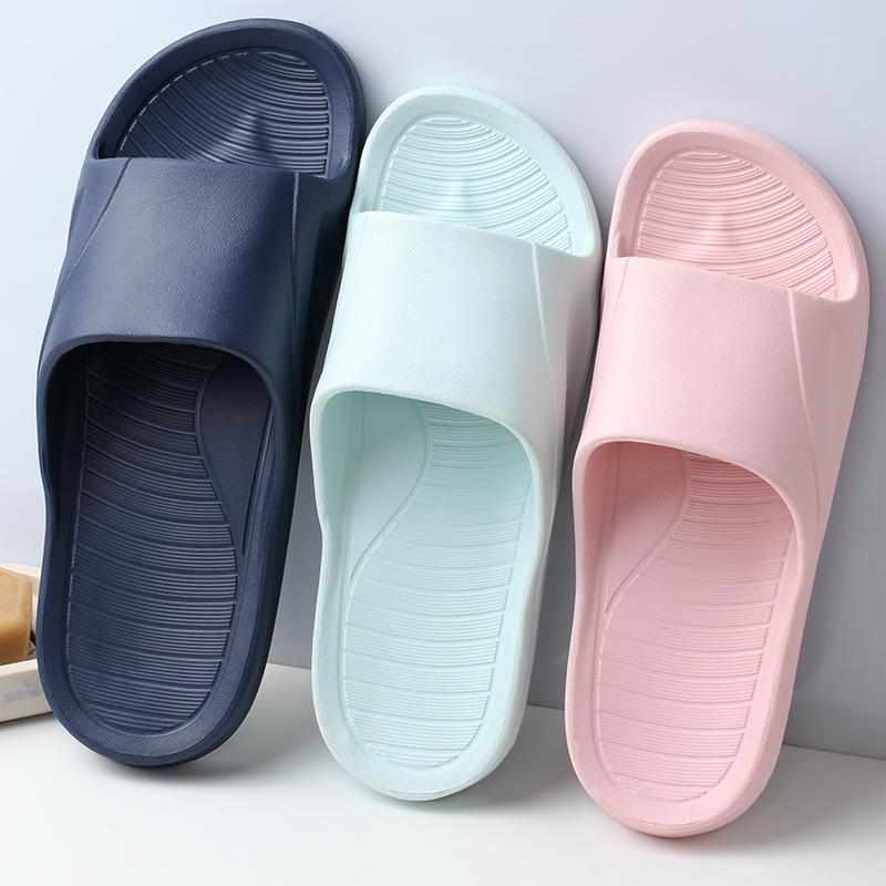 路拉迪居家防滑耐磨拖鞋 夏季厚底家用浴室拖情侣软底舒适凉拖鞋