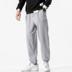 Quần thể thao nam mùa xuân overalls quần bảo vệ cộng với chất béo XL chất béo quần lỏng lẻo quần ống chân thương hiệu thủy triều - Quần mỏng