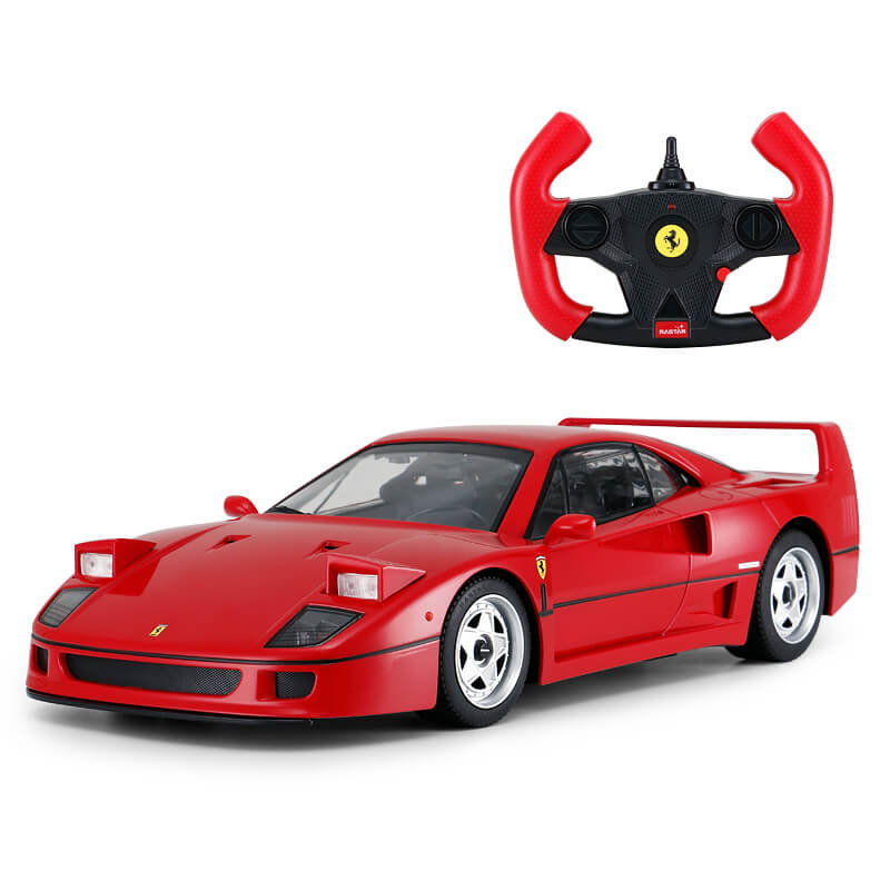 [FERRARI F40 40TH ANNIVERSARY EDITION RED] HEADLIGHTS CAN BOUNCE UP TO BE TRUE SOUND USB CHARGING