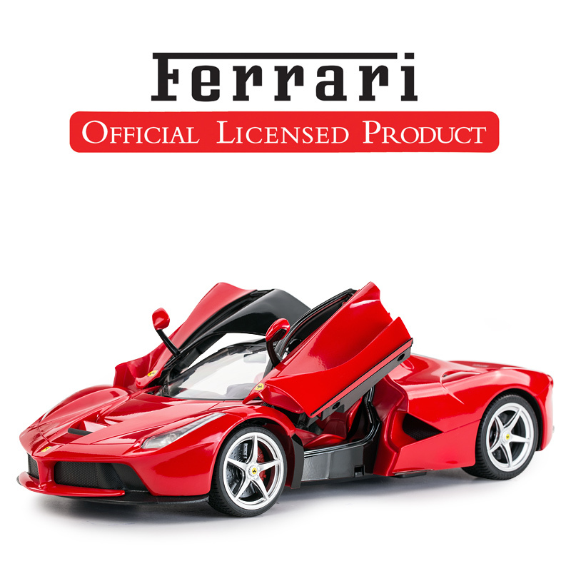 [FERRARI ENZO REGULAR VERSION RED] DOUBLE DOOR CAN OPEN FRONT AND REAR LIGHTS USB CHARGING