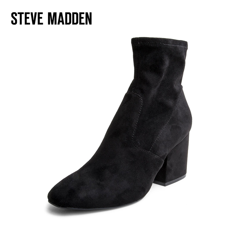 137d4f9ccc6 USD 231.53  Steve Madden simeidon 2018 new shoes short boots women s ...