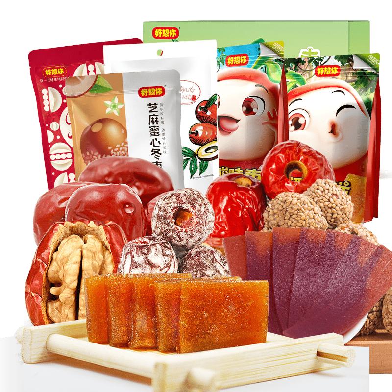 【好想你】红枣零食组合1298g