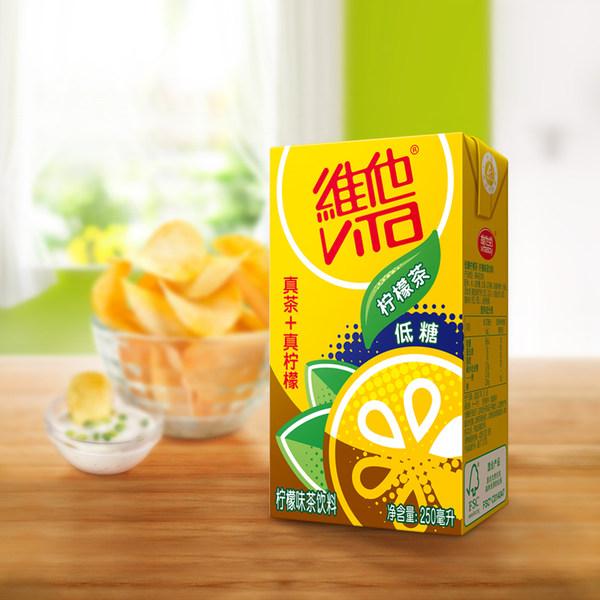ViTa 维他 低糖柠檬茶饮料 250ml*16盒*2件 聚划算双重优惠折后¥66.8包邮(拍2件)