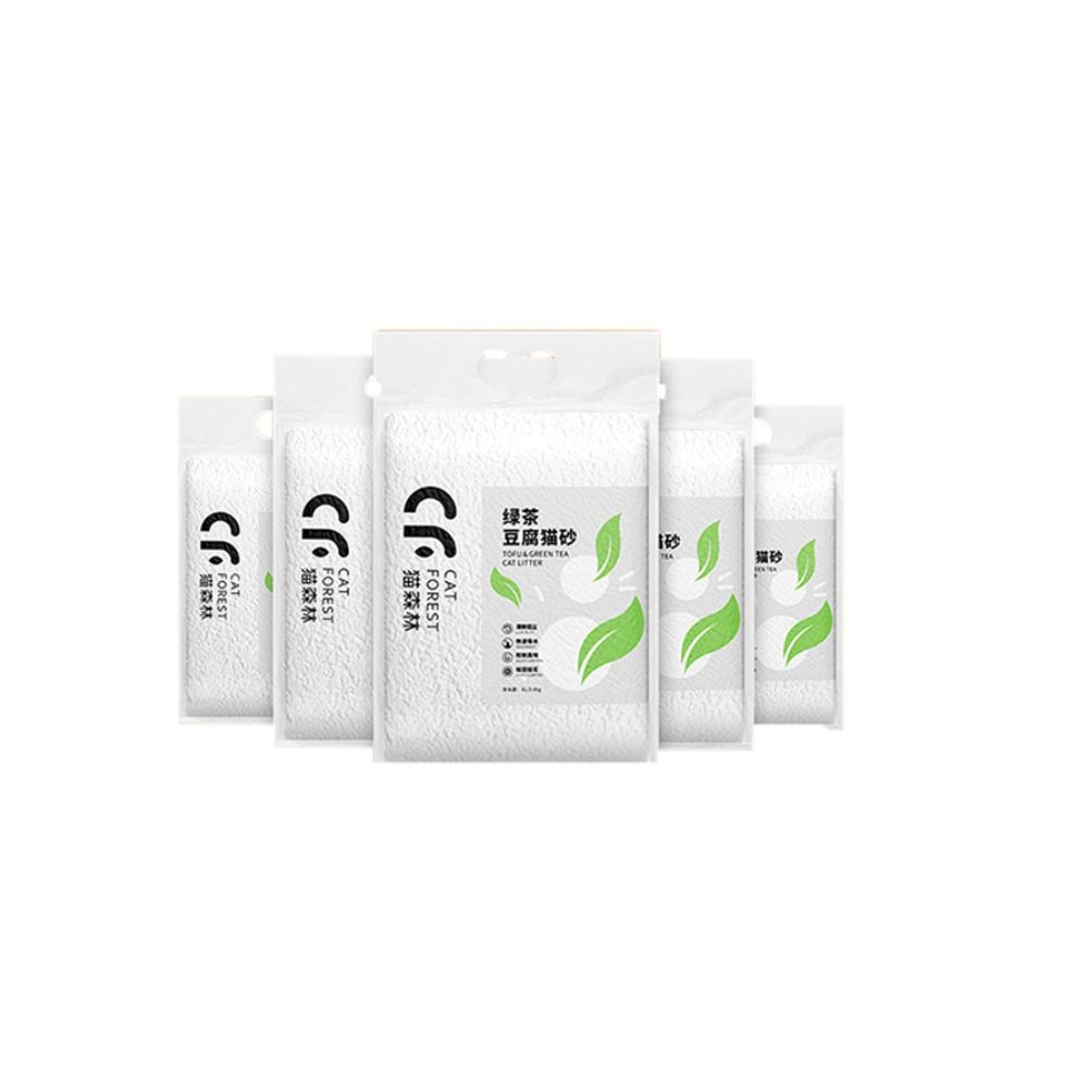 猫森林绿茶豆腐猫砂6L*6袋
