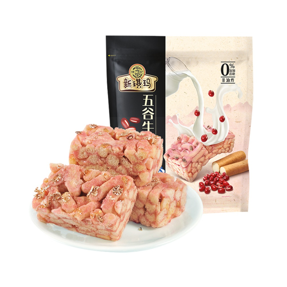 猫超!徐福记糕点沙琪玛五谷牛奶酥425g