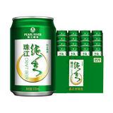 神价: 珠江啤酒 9度纯生 (330ml*24罐)*2件 109.8元/48罐,合2.28元/罐(多重优惠)