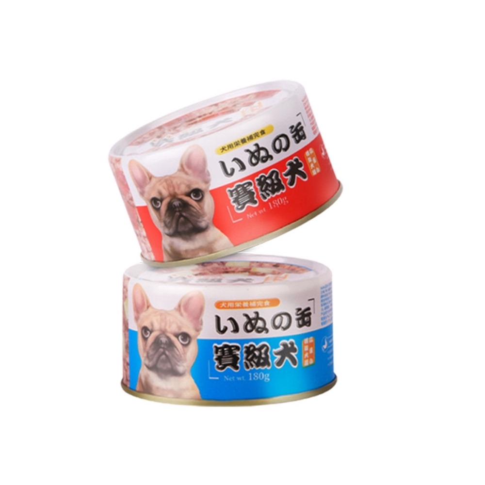 亚禾狗罐头拌饭狗零食180g*6罐泰迪幼犬法斗犬湿粮鲜肉赛级犬罐头