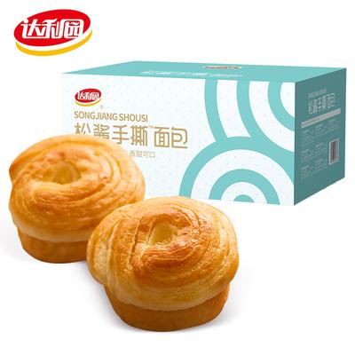 达利园松酱手撕面包(450g)奶酪夹心学生早餐营养糕点休闲零食