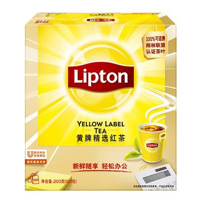 【猫超】立顿红茶100袋
