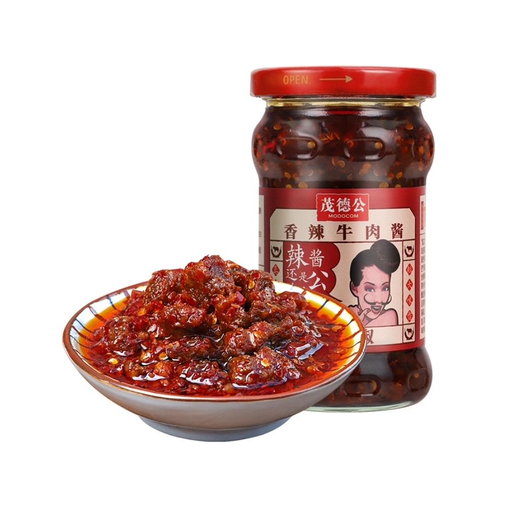 【包邮】茂德公香辣牛肉酱220g