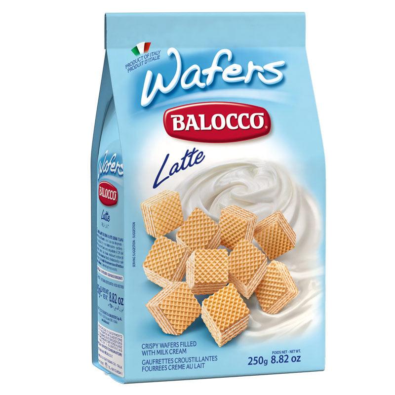 意大利进口Balocco百乐可奶油威化饼干250g下午茶休闲零食小吃