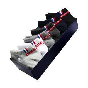 【七匹狼】低帮短筒运动棉袜6双
