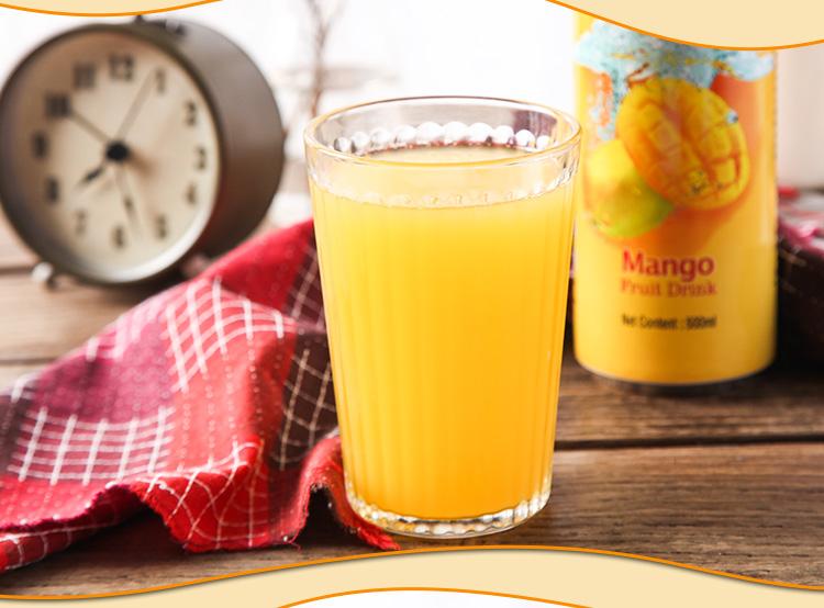 马来西亚进口 乐卡斯 0脂肪芒果汁饮料 500ml*4瓶 图9