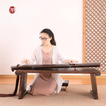 Столы антикварные,  Древний гусли стол табуретка специальность в целом звук павлония древний чжэн (гусли) гусли стол дерево китайский стиль античный стол алтарь смысл каллиграфия стол страна школа стол, цена 2087 руб