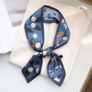 Темперамент лента печать шарфы недолго голубой серый листья, цветы цветок, бутон дуплекс хорошо узкий наконечник мешки лента шарф, цена 168 руб