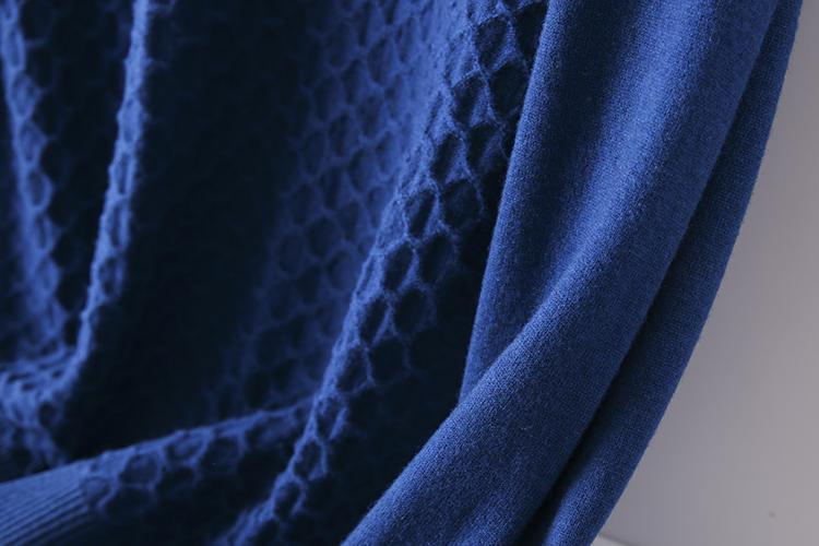 Thin sweater autumn chicken heart collar sweater new 2020 burst men's cut inside the men's bottom shirt V-neck top 55 Online shopping Bangladesh