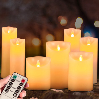 led electronic candle light romantic birthday arrangement confession proposal guide street light homestay decoration script kill props light