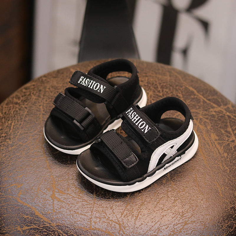 Summer baby sandals 0-1-2 years old open toe men and women children beach  shoes soft non-slip baby shoes toddler shoes 746ebb503c