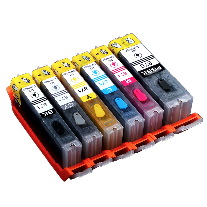 For Canon MG7780 MG5780 TS8080 TS8080 TS7720 TS9020 TS8020 TS5020 TS6020  TS6020 printer filled supply cartridges
