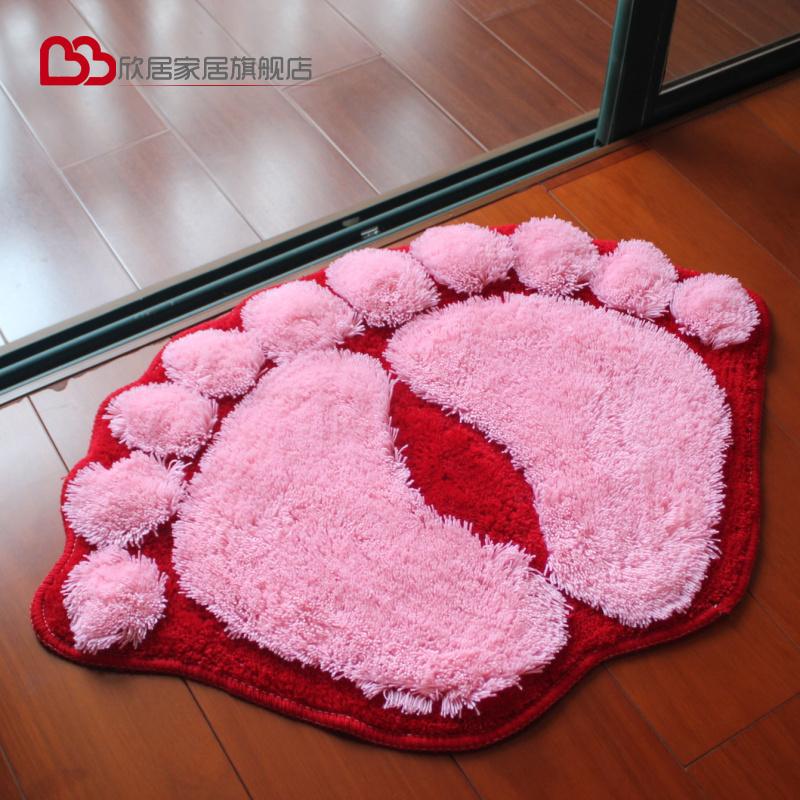 Xinju sàn mat cửa mat thấm thảm sàn cửa phòng tắm chống trượt mat foyer phòng tắm nhà vệ sinh nhà bếp phòng ngủ nhà