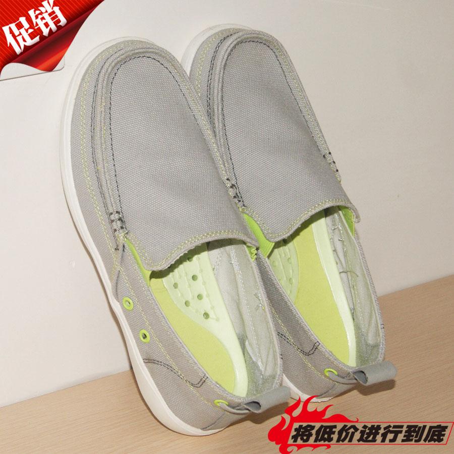 夏季cross男沃尔卢帆布鞋休闲鞋一男鞋懒人鞋老北京脚蹬透气布鞋