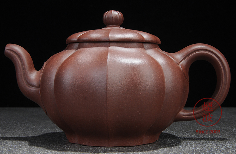 Pure checking made those yixing it Wu Lin bottom groove, solitary ling kung fu tea 400 ml