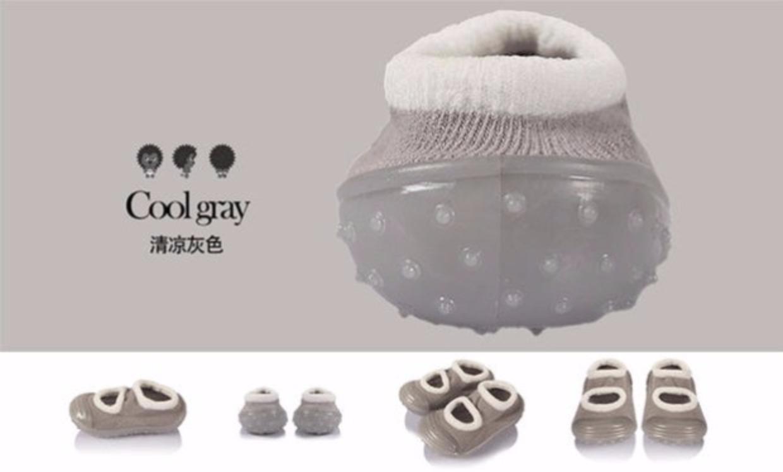 春款宝宝袜鞋 室内软底学步鞋 婴儿鞋 男女童地板袜 防滑透气轻便30张