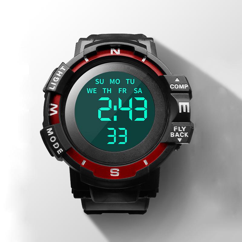 手表男士潮流时尚防水机械led触屏多功能运动全自动智能电子表潮