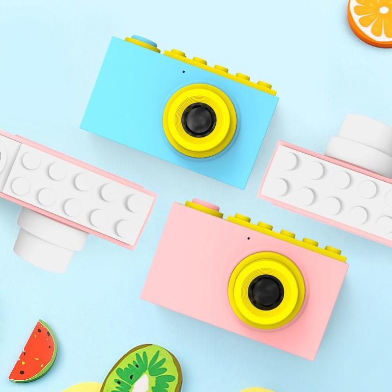 Детские Игрушечная камера цифровая мини водонепроницаемый Камера подарочной камеры 3/6 лет может снимать камеру с одним касанием