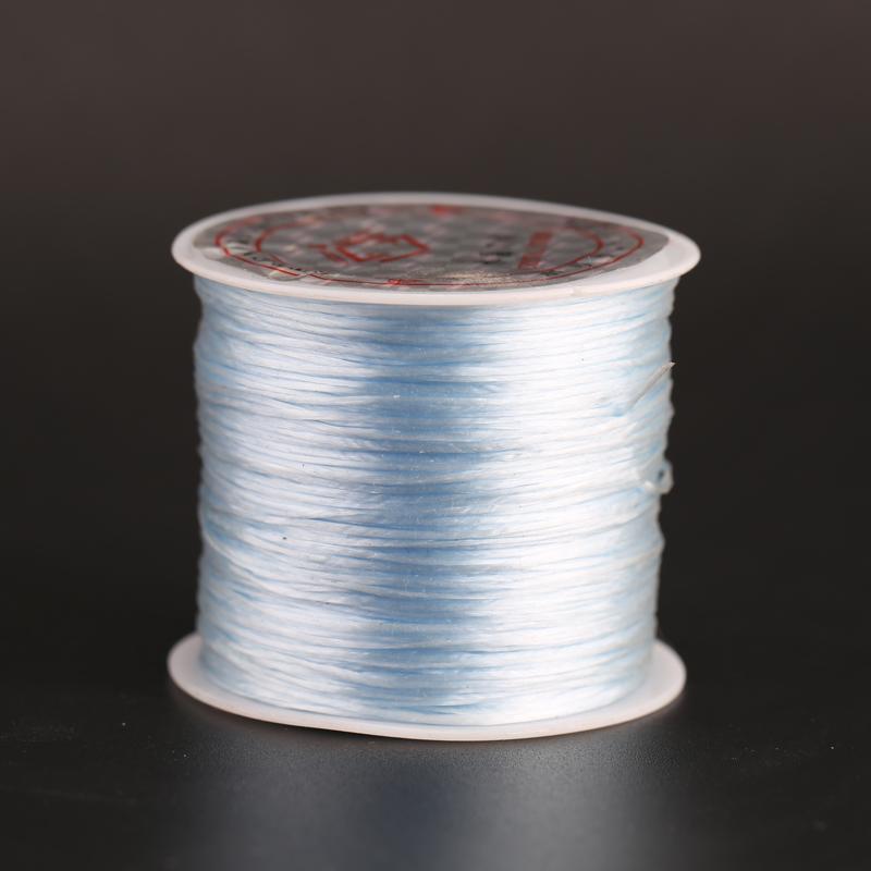 線材 diy飾品串珠透明水晶彈力線手鏈手串橡皮筋文玩穿珠子佛珠松緊線 優品百貨
