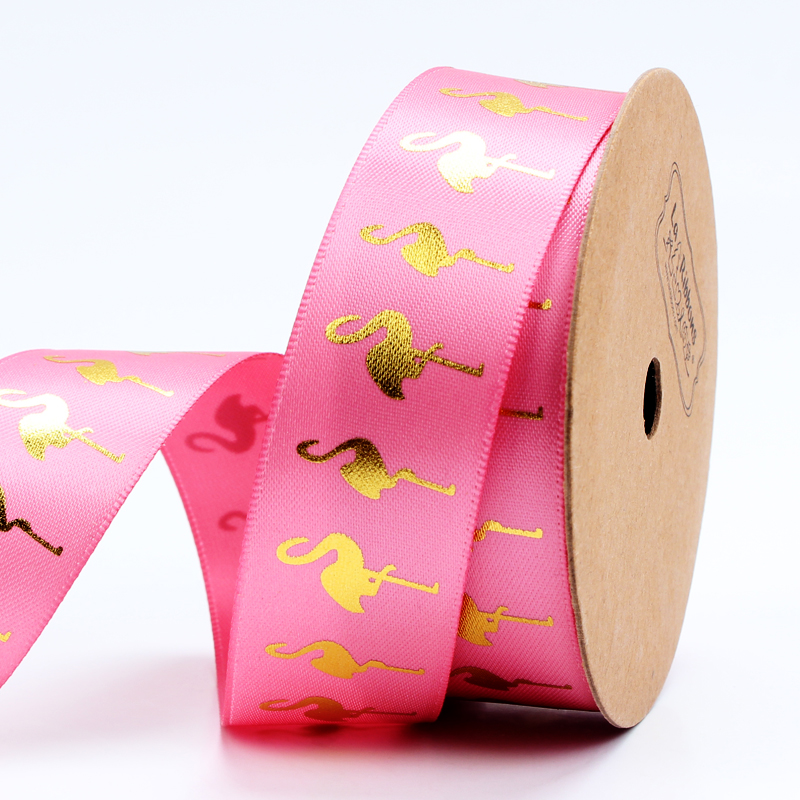 Small Age Bronzing Flamingo Packing Tape 25mm Wide
