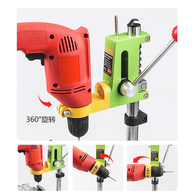 Strange Mini Strong Electric Drill Bracket Bg6116 Multi Function Pistol Drill Change Bench Drill Cast Iron Universal Workbench Gmtry Best Dining Table And Chair Ideas Images Gmtryco