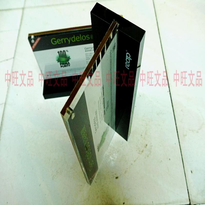 Пользовательское меню Zhongwang  15x21CM A5
