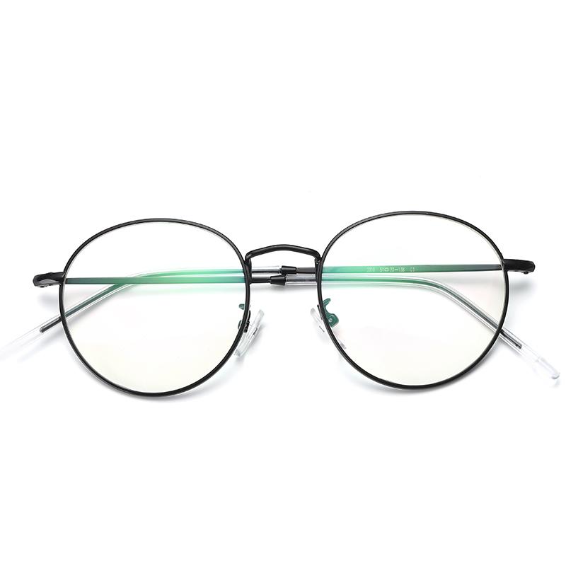 【歐姆斯】防輻射網紅眼鏡潮複古文藝韓版