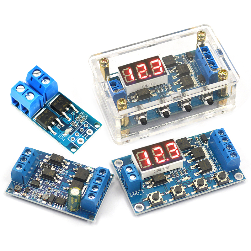 High Power MOSFET Trigger Switch Driver Board PWM Module for Electronic  Switch Control Board