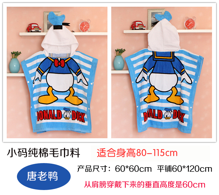 BLUE COTTON 0-6 OLD DONALD DUCK