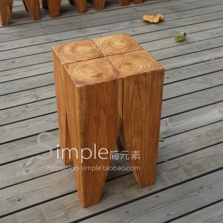 Backenzahn设计师凳 年轮原木凳实木凳 Philipp Mainzer边几Stool 600.00元