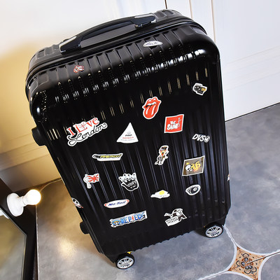 Korean version of the suitcase male trolley case universal wheel travel luggage personality female password suitcase 20 inch 24 inch college students